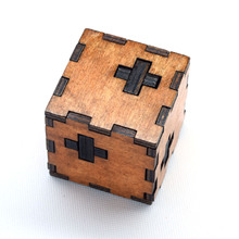 Kids Toys Swiss Cube A Wooden Of 3d Puzzle Also For Adult Kong Mingsuo