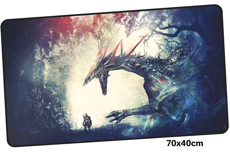 dragon age mousepad gamer 700x400X3MM gaming mouse pad large Mass pattern notebook pc accessories laptop padmouse ergonomic mat