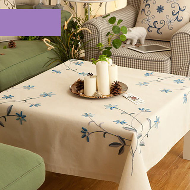 Table Cloth Mesa Linen Tablecloth Dining Table Lace Manteles Embroidery  European Decoration Doilies Luxury Tablecloths DD0487