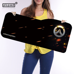 Overwatch large mouse pad 730 330mm speed locking edge keyboards mat rubber gaming mouse pad desk.jpg 250x250