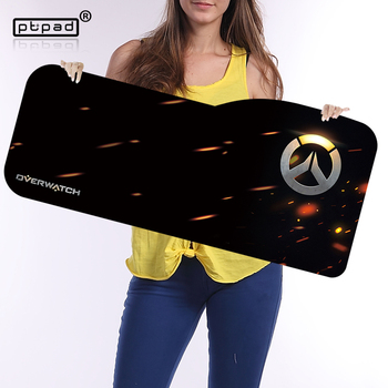 Overwatch large mouse pad 730 330mm speed locking edge keyboards mat rubber gaming mouse pad desk.jpg 350x350