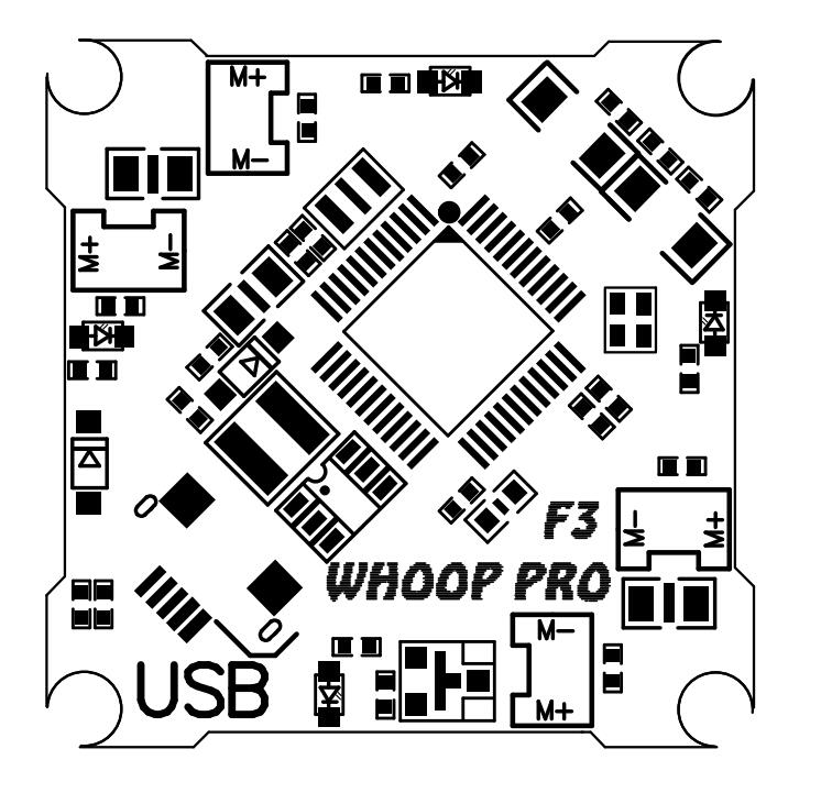 Newest Whoop Pro F3 Osd Brushed Flight Control Board For Tiny