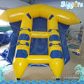 Biggors Water Park Equipment Inflatable Flyfish Inflatable Banana Boat For Sale