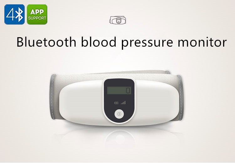 Bluetooth Blood Pressure Monitor Digital Upper Arm Smart sphygmomanometer Monitor with Cell Phone Healthcare intelligent Meter voice version digital lcd upper arm blood pressure monitor heart beat meter machine spygmomanometer portable home type free ship