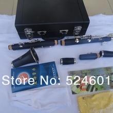 Синхай 17 ключи с никелевым покрытием Bb Мелодия кларнет ABS смолы Brop B высокое качество музыкальный инструмент с корпусом