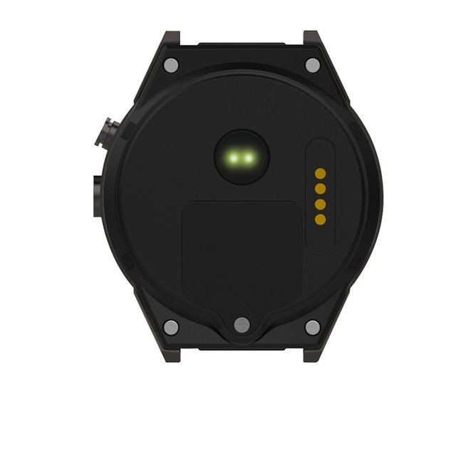 KW88 Smart Watch for Android 5.1 OS - Black Tarnish/Black Gold 4