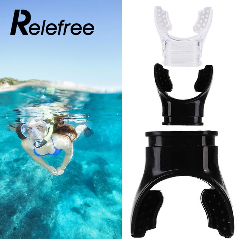 Дайвинг Плавание дыхательная трубка подводного силикона регулятор водные виды спорта