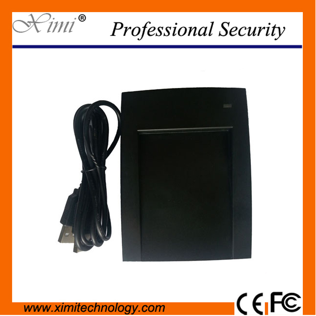 10pcs/lot cheap USB RFID EM card 125KHZ card USB proximity ID card reader for time attendance and door access control system 1pcs lot access control 125khz usb rfid id em card keyfobs reader 5pcs em4100 keychain