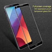 IMAK pour LG G6 protecteur d'écran en verre trempé Anti-explosion à couverture complète
