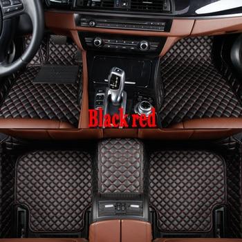 ZHAOYANHUASpecial custom made car floor mats for Cadillac ATS CTS XTS SLS Escalade 5D  all weather carpet floor liner