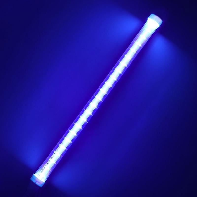 LumiParty 30cm 24 LED Germicidal Ultraviolet Lamp UV Light Bar for Bathroom Kitchen Toilet Lamp jk30 50pcs new uv germicidal sanitizer replacement bulb for philips sonicare hx6150 hx6160 hx7990 hx6972 hx6011 hx6711 hx6932 hx6921