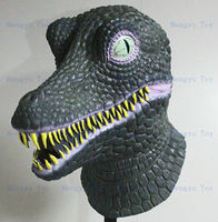 New Designed Funny Dinosaur Masks Latex Animal Head Mask