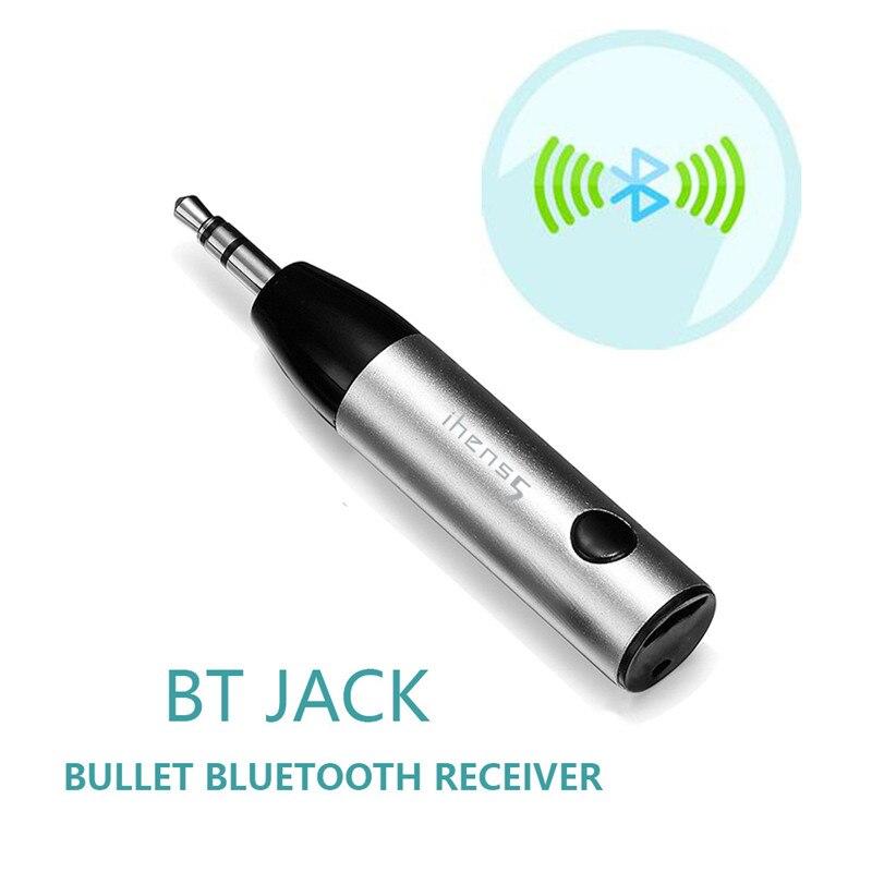 Ihens5 Drahtlose Bluetooth V4.1 Musik-empfänger-adapter 3,5mm Aux Audio Mini Car Kit Mit Mic Für Lautsprecher Kopfhörer Schmerzen Haben Tragbares Audio & Video