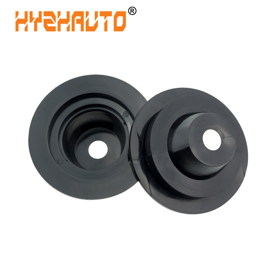 HYZHAUTO Auto LED Headlight Dust Cover Sealing Cap Rubber Waterproof Dustproof Cover For H1 H3 H7 H4 H11 Universal Seal Cap 2PCS