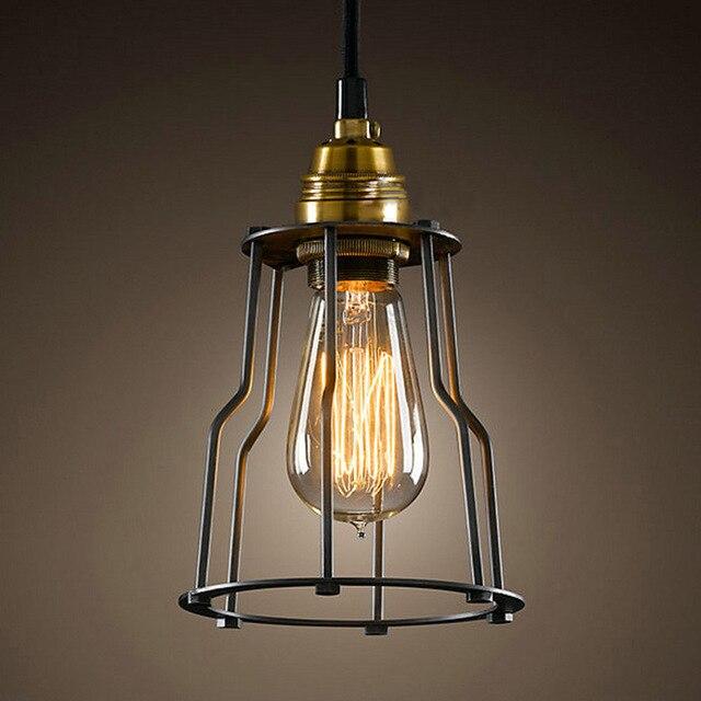 Heißer Verkauf Jahrgang Industrielle Eisen Lampen Retro Anhänger  Beleuchtung Lampen Deckenleuchte Halter Amerika Typ Room Bar