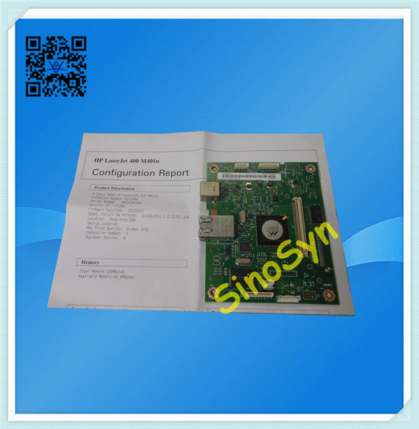 HP 401N Formatter-1