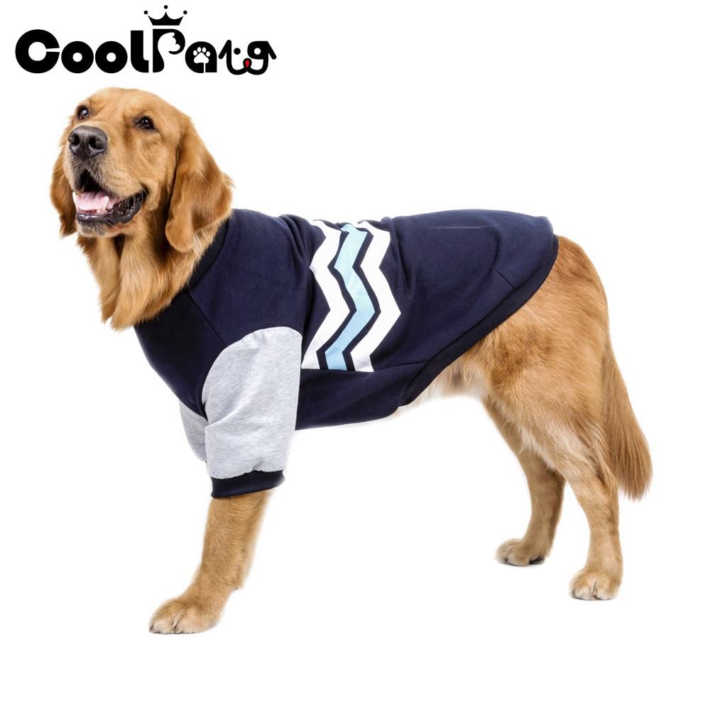 2017 New Warm Dog Clothes Pet Soft Wave Patten Design