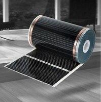100cm Wide 6 5M Geothermal Crystal With Heating Floor Of Carbon Fiber Electric Heating Floor Film