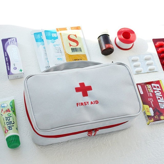 Portable First Aid Kits Emergency Medical Survival Box Medicine Bag For Travel Outdoor Sports Camping Home Medical Tools