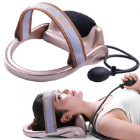 Air Cervical physiotherapy pillow Soft Neck fixation brace support cervical Traction Device Neck Massage relax health care