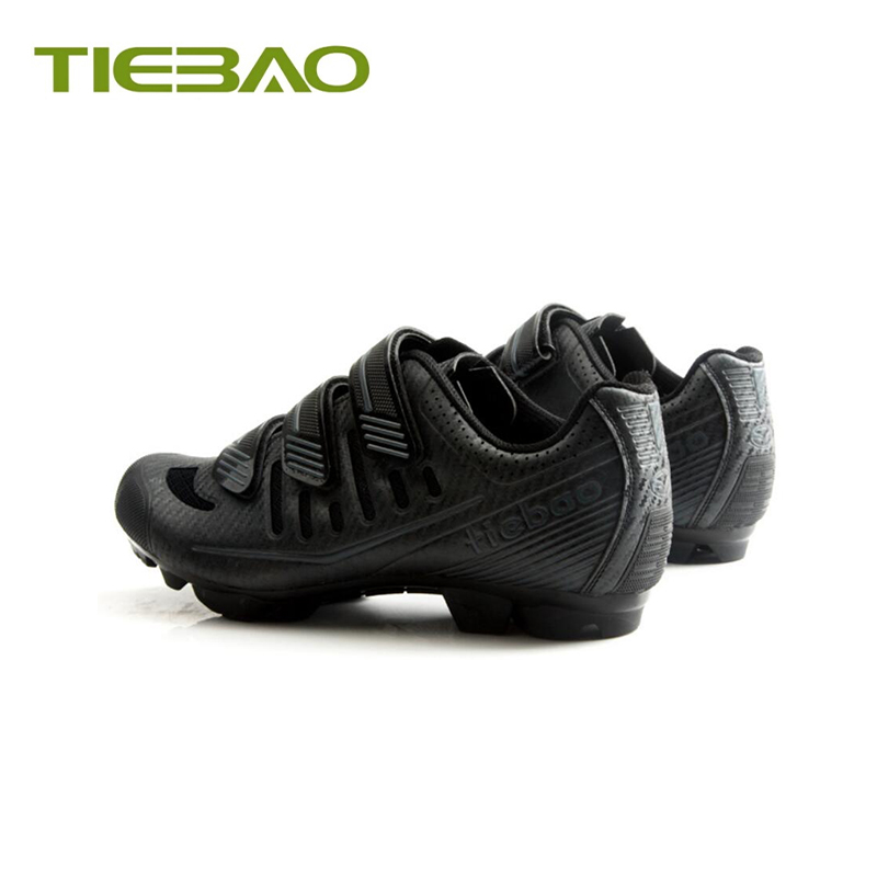 Купить с кэшбэком Tiebao Cycling Shoes Sapatilha Ciclismo MTB Bike Bicycle SPD bisiklet Pedals Shoes Breathable Self-locking MTB riding Sneakes