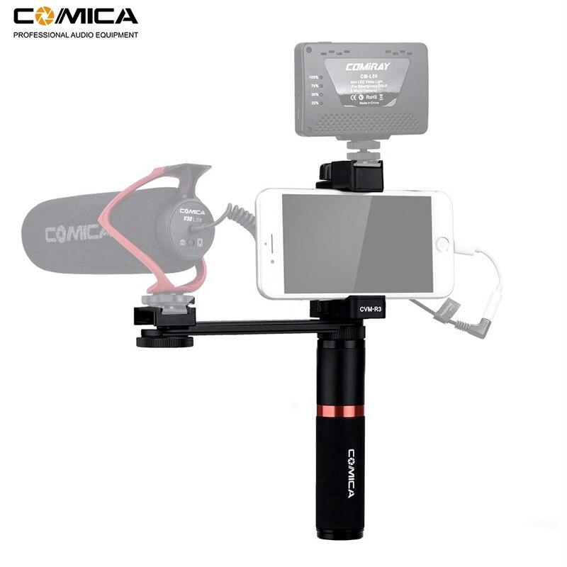 Unterhaltungselektronik WunderschöNen Comica Cvm-r3 Smartphone Video Rig Hand Grip Griff Stabilisator Kit Für Iphone X 8 7 6 S Plus Für Samsung Huawei Etc.