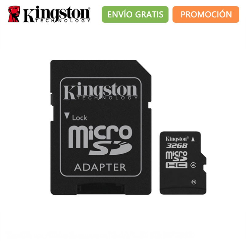 Original Kingston Micro SD Memory Card MicroSDXC 32GB 64GB 128GB Class 10 High Speed Mini TF Card 32 64 128 GB With SD Adapter