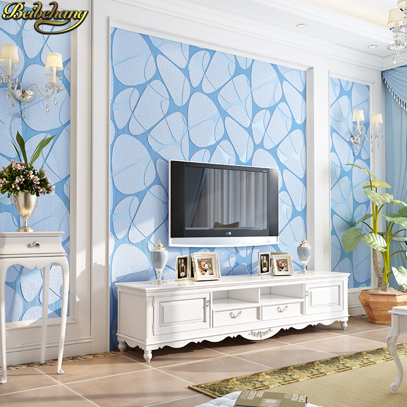 beibehang 3D flooring TV background wall wallpapers for living room decoration bedroom geometry modern Stone Wallpaper roll beibehang american village wallpapers ab edition bedroom living room tv wall wallpaper background warm and romantic wallpaper