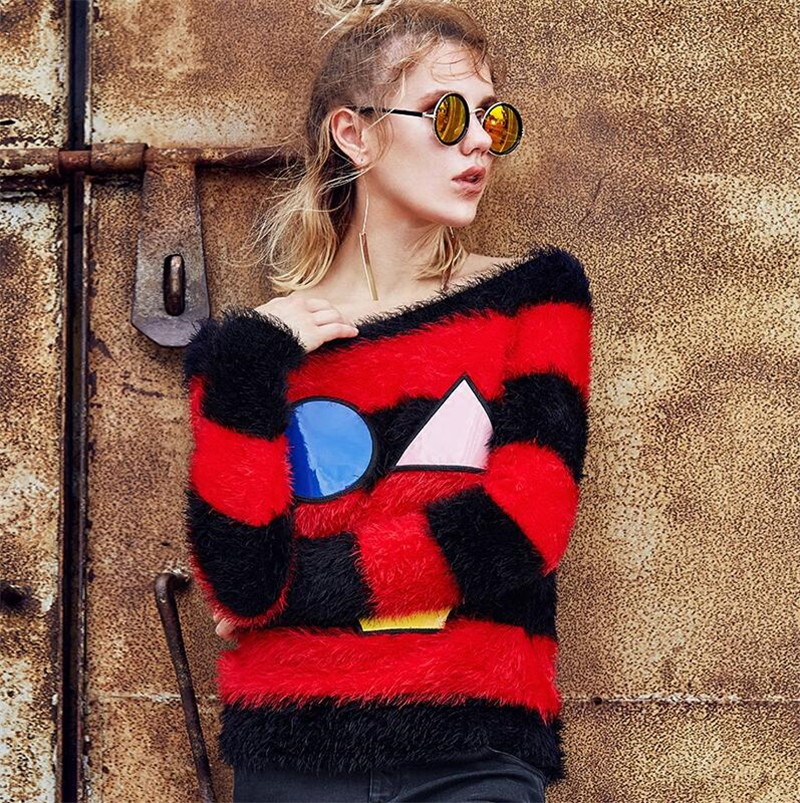 2016 Autumn font b women s b font Famous Brand Sweaters font b Fashion b font