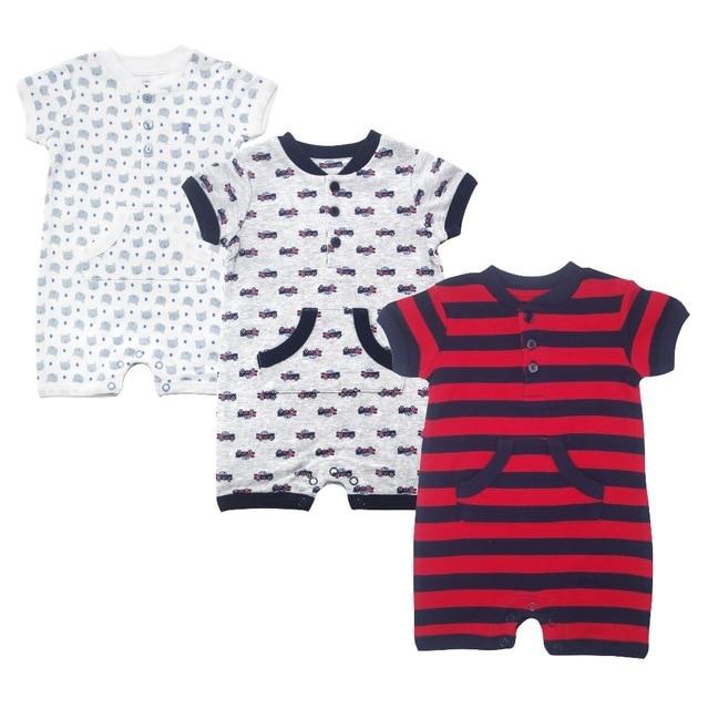 8e56ac95b newborn baby boy bodysuits short sleeve car shirt 100cotton clothes ...
