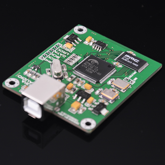 2018 Latest Nobsound HiFi CM6631A Digital Interface Module DAC Board USB to IIS SPDIF Output 24Bit 192K hi fi cm6631a 192khz to coaxial optical spdif convertor dac board 24bit usb 2 0