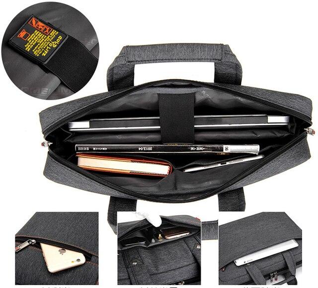 Burnur 12 13 14 15 15.6 17 17.3 Inch Waterproof Computer Laptop Notebook Tablet Bag 2