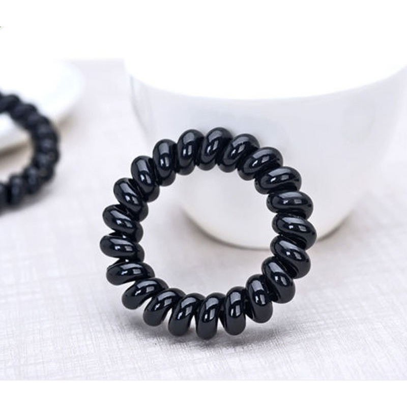 4pcs Hair Braid Hair Elastic Ring Middle Size Gum for Head To Weave ...