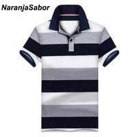 NaranjaSabor Новый Повседневное для мужчин's мужские Поло рубашка мужчин s короткий рукав рубашки для мальчиков брендовая одежда