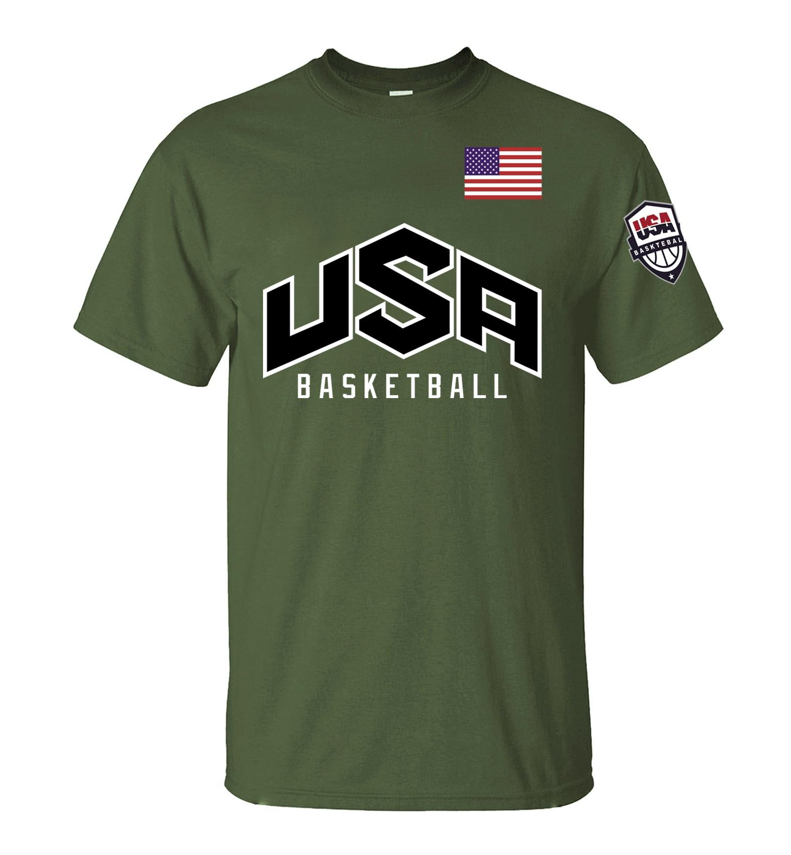 2016 usa fitness printed Men's T Shirt fashion streetwear funny ...