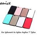 Silicone Case For iPhone 6 6 s 7 плюс новый противоударный фортепиано краска Мягкий ТПУ Резиновая Броня тонкий Прочный Candy Цвет крышки телефона