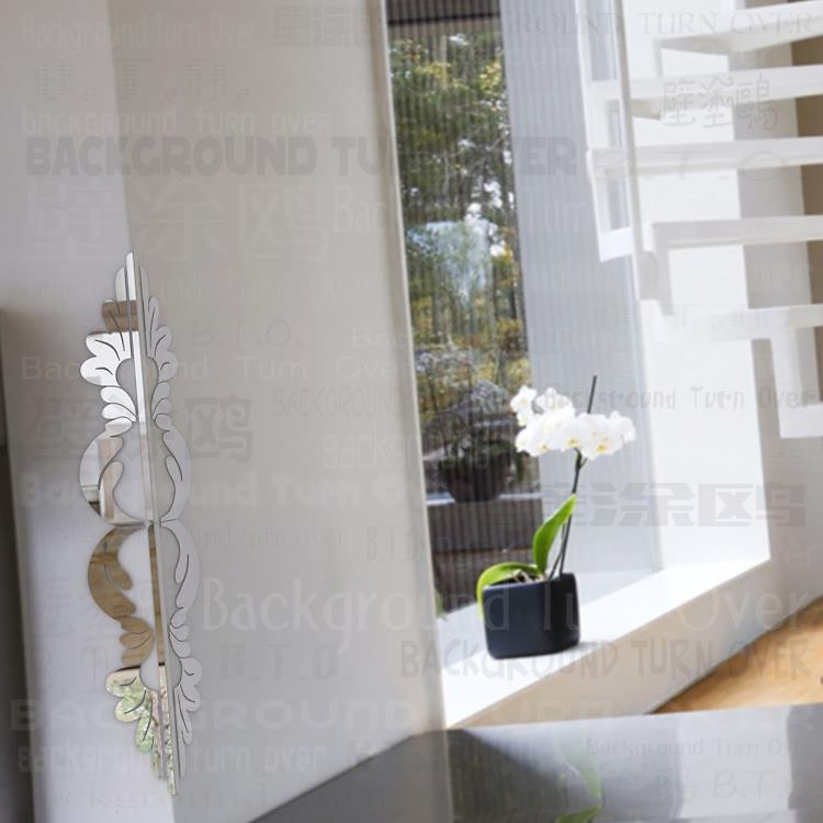 diseo simple edge y protectores de la esquina de la casa adornos decorativos espejo esquina protectores