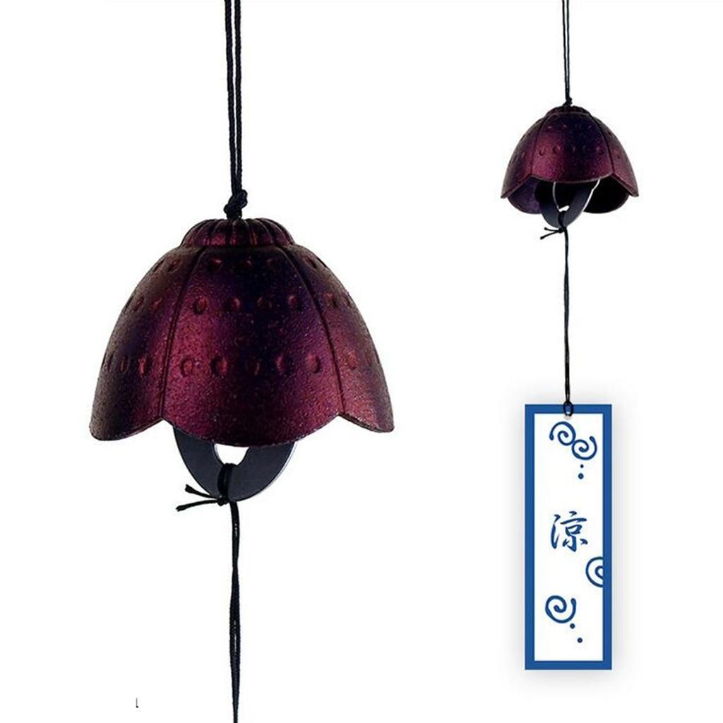 3 pezzi tradizionale giapponese Furin Wind Chime Nambu ghisa Iwachu campane