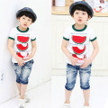 Cute Summer Kid Toddler Watermelon Tops Cozy T-Shirt Child Boys Short Sleeve Tee Shirt