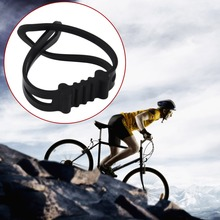 Wholesale Universal Silicone Bicycle Flashlight Tie Strap  Portable Phone Torch Light Holder Cycling Accessories