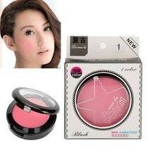 5 Colors Makeup Cheek Blusher Powder Natural Long Lasting Blush Pressed Powder B