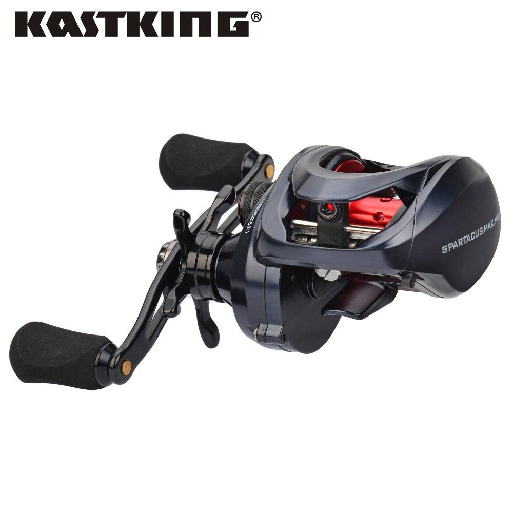 KastKing Spartacus Maximus 11.33KG/25LBs Max Drag Metal Body Bait Casting Reel 10+1 Ball Bearings 6.3:1 Baitcasting Fishing Reel kastking pontus high cost performance front and rear drag system 9kg max drag fishing reel 9 1 ball bearings spinning reel