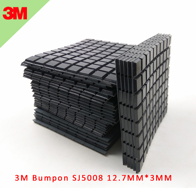 Self Adhesive Rubber Feet Stops Bumpons Bumpers 19 x 4mm