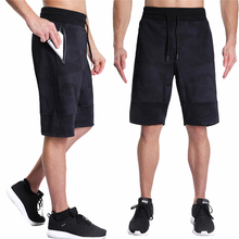 Mens Shorts Summer 2018 Sweatpants Workout Men Clothing Pocket Fitness Gyms Bodybuilding Casual KT35