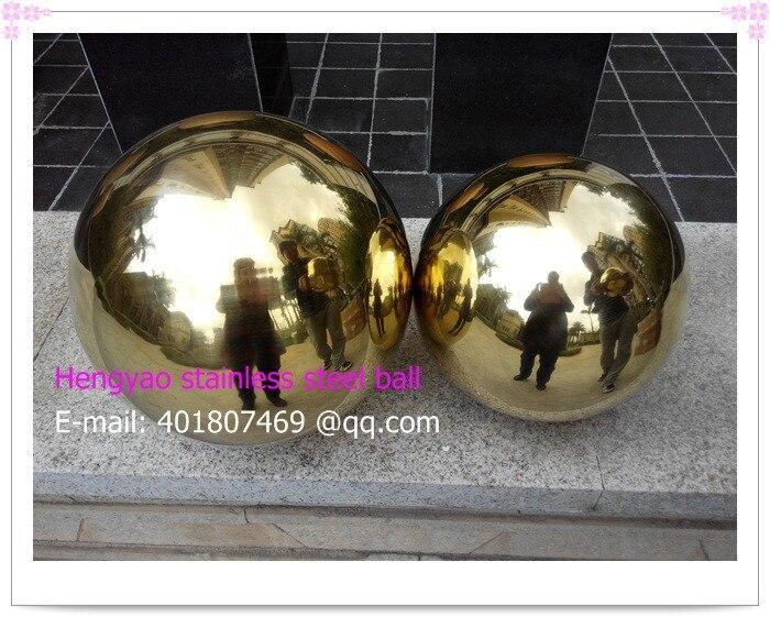 150 мм в диаметре Золотой шарик из нержавеющей стали, полый шар, шар украшение, Titanium покрытие, ktv, магазины, бары, отели декоративные