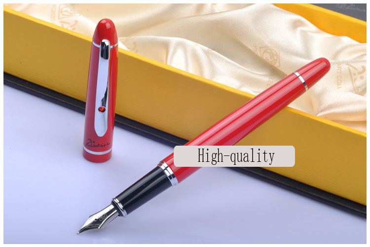 red real Picasso 608 Fountain Pen business gift pen free shipping   school and office Writing Supplies send teacher student hot sale design free shipping top quality fully sublimation custom soccer jersey for men v neck