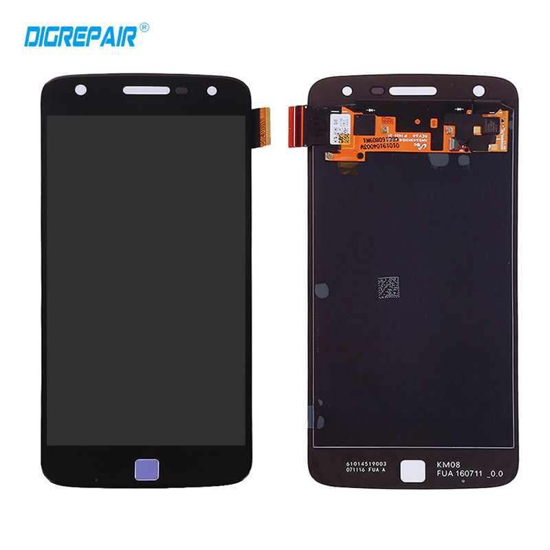 AAA Black For Motorola Moto Z Play Droid XT1635 LCD Display Touch Screen Digitizer Full Assembly