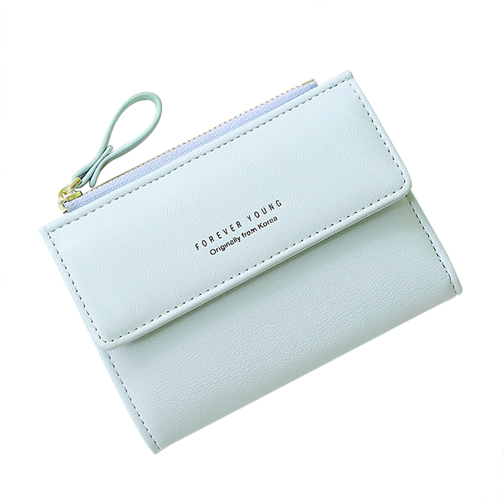 Purses Wallets Money-Bag Bifold Korean-Style Mini Lady Card-Holder Small Cute Women Short