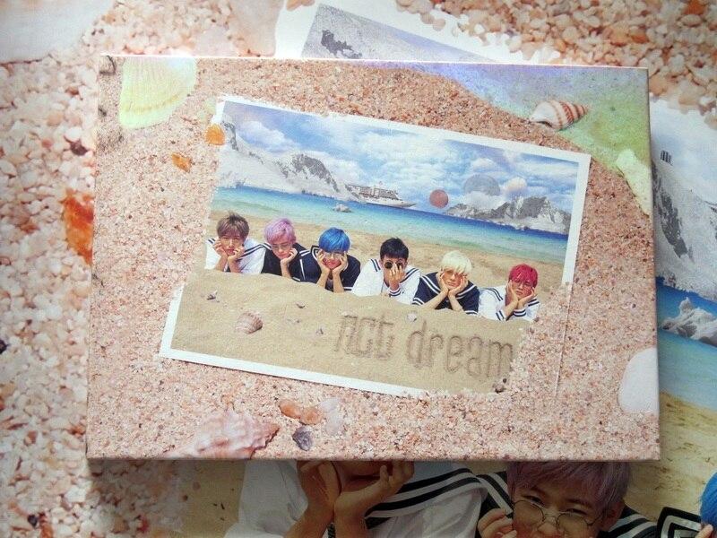 NCT RÊVE autographiée signé mini1st album Nous Jeunes CD coréen ver K-POP 09217