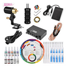 Rotary Tattoo Machine Kit Nueva Llega Suplies Tatuajes Maquillaje Permanente Principiante Kits Professional